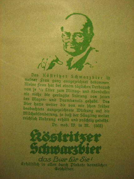 Anzeige, Allgemeine Deutsche Hebammen-Zeitung, 41, 1926