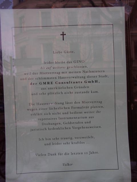 Restaurant 'Bei Gino' (Foto: Fuckermothers')